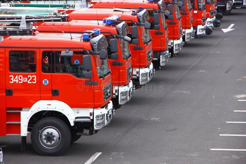 Firetrucks royalty-vrije stock foto's