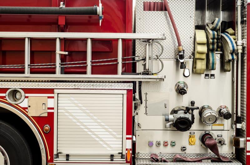 Firetruckutrustning royaltyfri foto