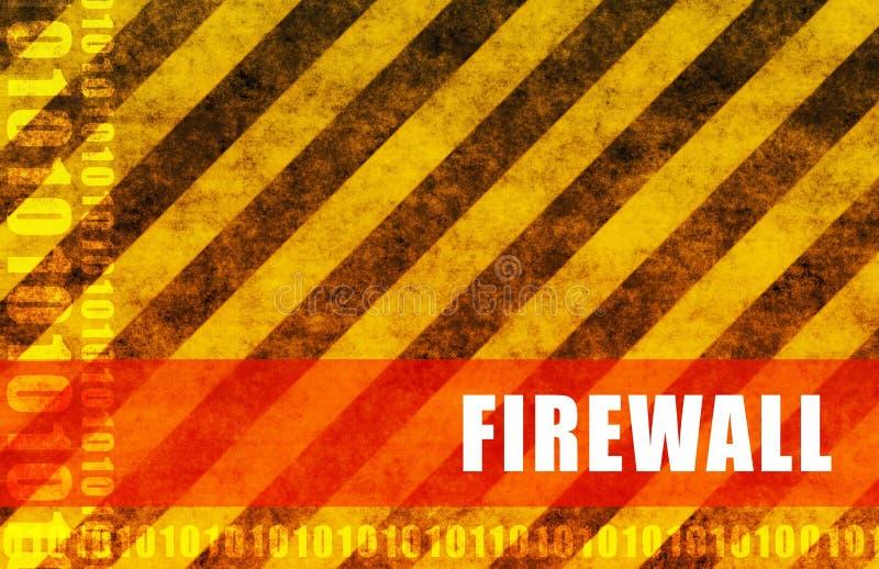 Firewall vector illustratie