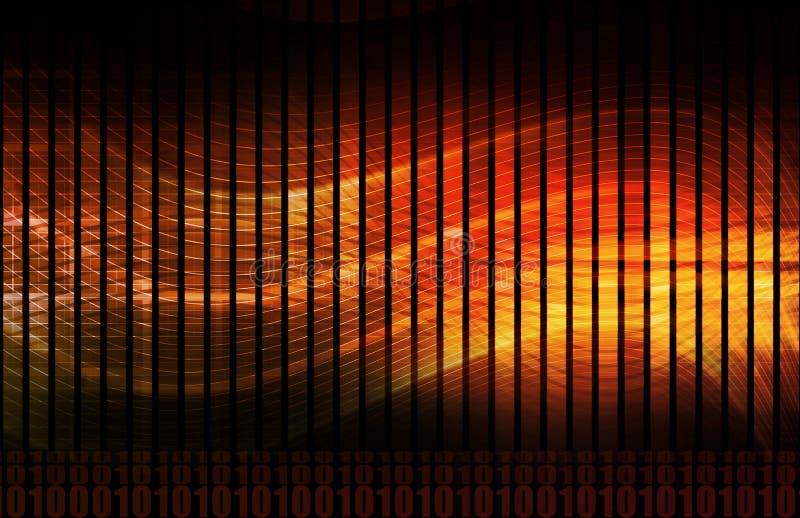 Firewall network ilustração stock