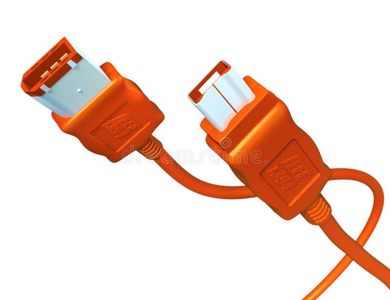 Firewire stock de ilustración