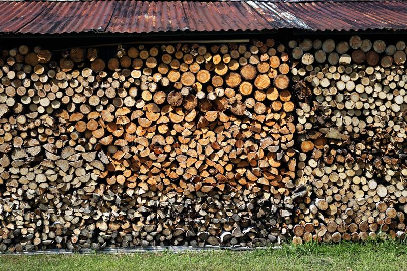 firewood imagens de stock royalty free
