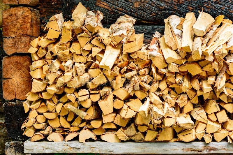 firewood imagens de stock