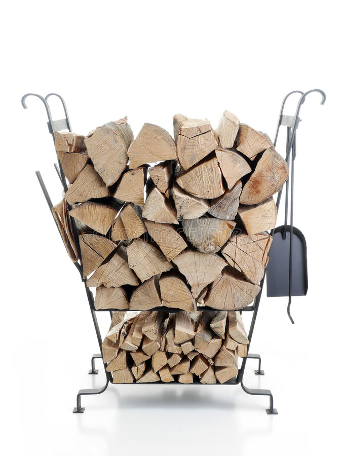 Download Firewood Metal Stand Stock Images - Image: 29188834