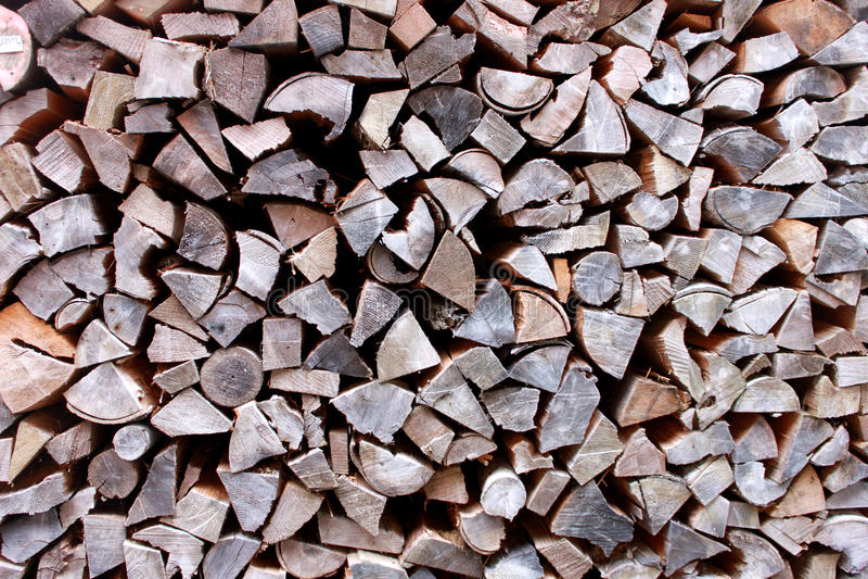 Firewood Pattern Stock Photography