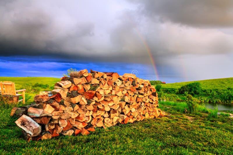 Download Firewood stock image. Image of pile, split, firewood - 36374327