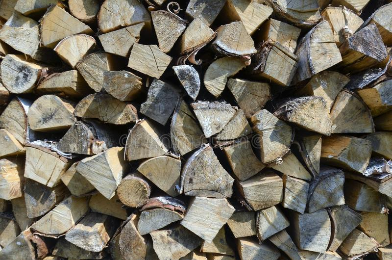 Firewood 4 stock photography