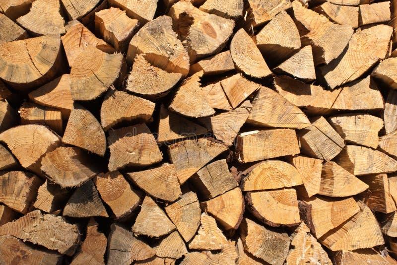 Firewood texture stock photo
