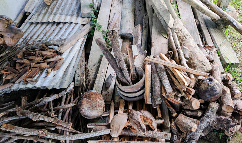 Firewoods fotografía de archivo