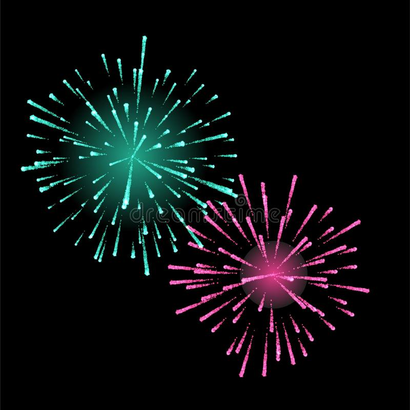 firework illustrazione vettoriale
