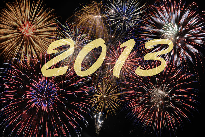 Download Firework 2013 stock image. Image of festive, glowing - 26568845