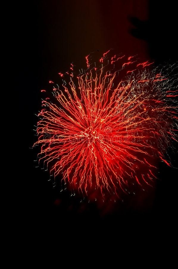 Firework royalty free stock image