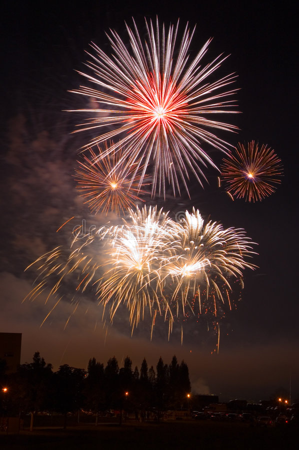 The Firework stock photography