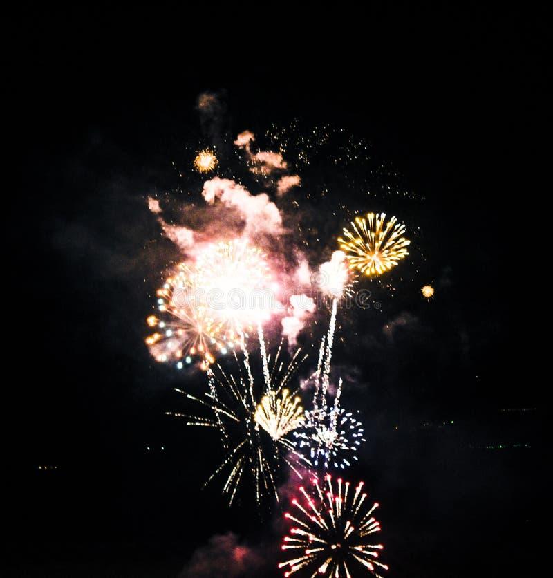 firework fotografie stock libere da diritti