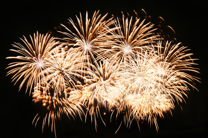 Firework. Background, New Years Eve stock photo