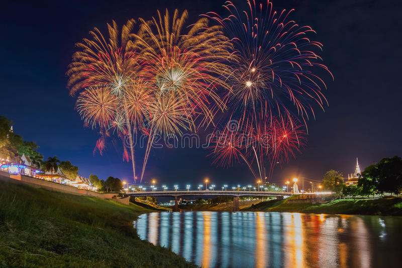 Download Firework stock photo. Image of evening, independence - 75736264