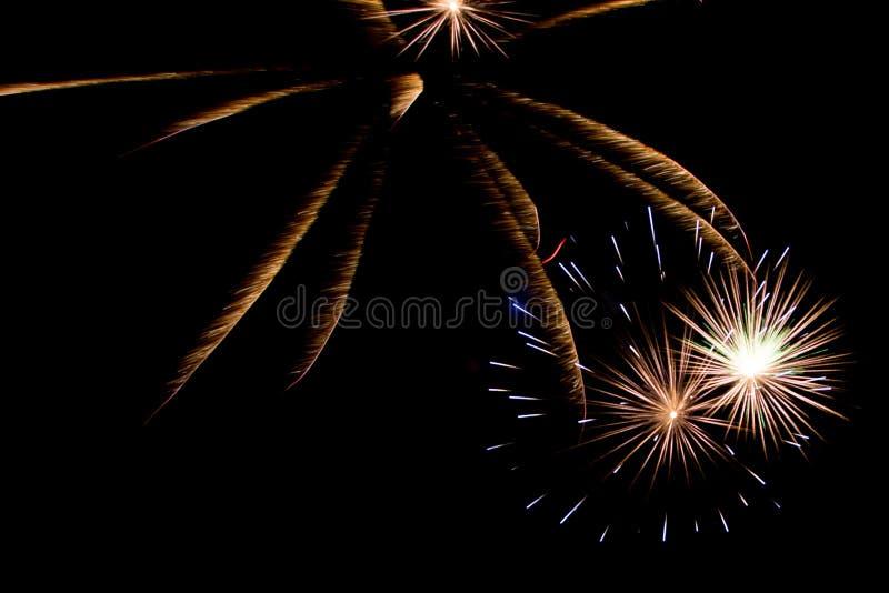 Firework celebration New Year royalty free stock photos