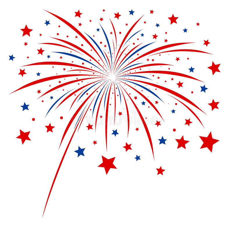 Firework design royalty free stock image