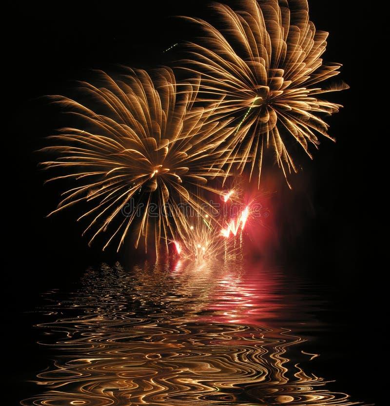 Free Firework Display Royalty Free Stock Photos - 324648