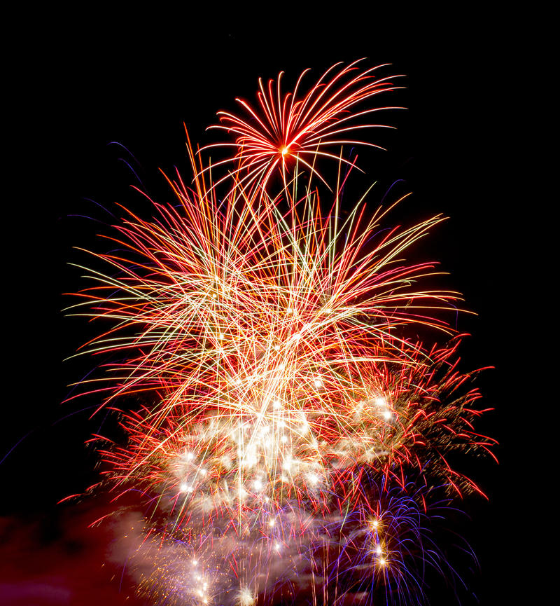 Download Firework Display On Guy Fawkes Night Stock Image - Image of colours, bang: 39505637