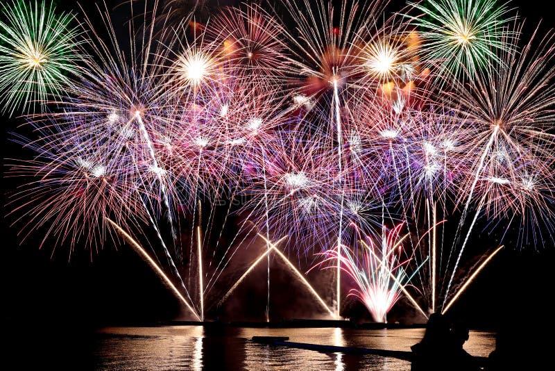 Firework or firecracker. stock image