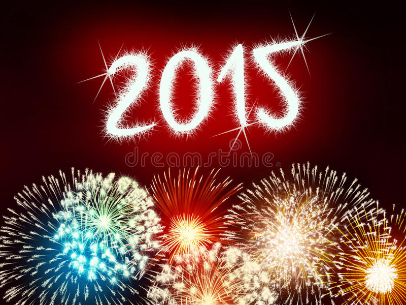 Download Firework 2015 Happy New Year Stock Photo - Image of anniversary, holiday: 47899158
