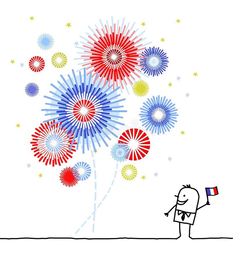Download Firework & national day stock vector. Illustration of background - 14857081