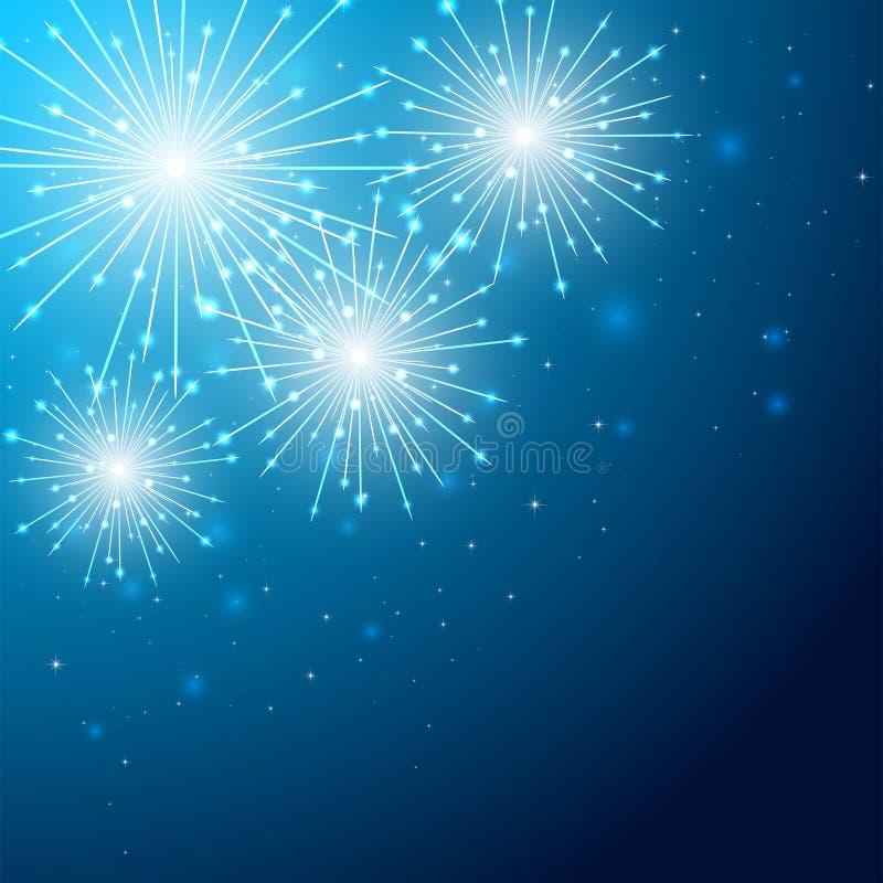 Free Firework On Blue Sky Stock Photos - 40408683