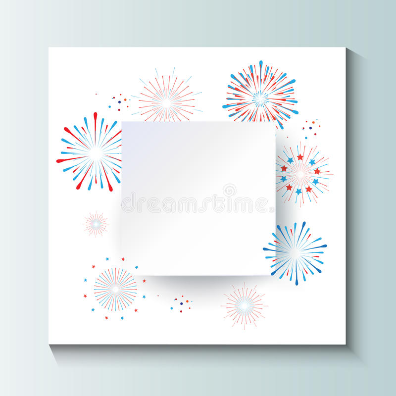 Download Firework stock vector. Illustration of drawing, event - 95471499
