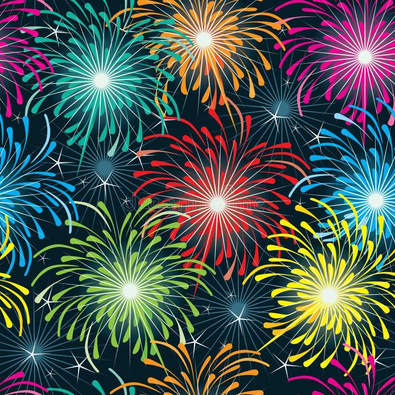 Download Firework Seamless Pattern_eps Stock Vector - Illustration: 40397351