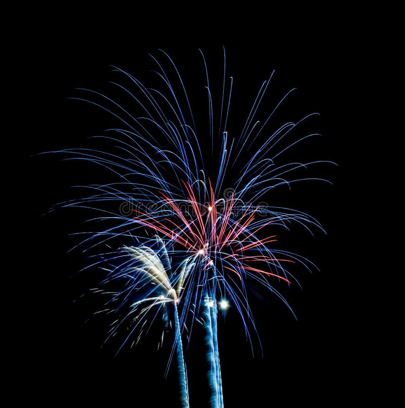 Fireworks 5 royalty free stock image