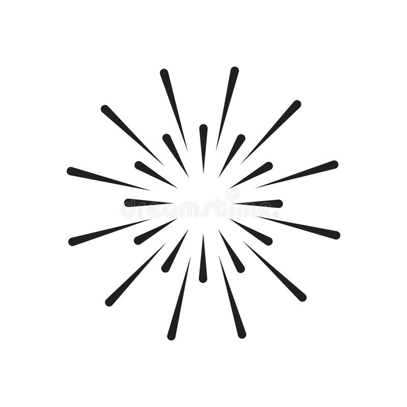 Firework Vector Template Design Illustration vector illustration