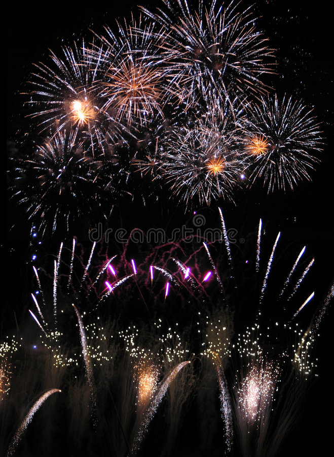 Fireworks 02 royalty free stock photography