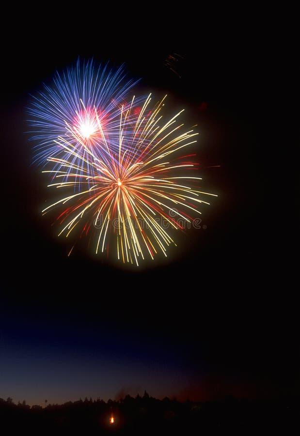 Download Fireworks 02 stock image. Image of fireworks, nighttime - 456993