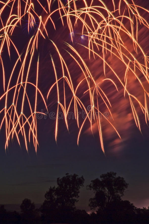 Download Fireworks stock photo. Image of color, holiday, july - 10027986