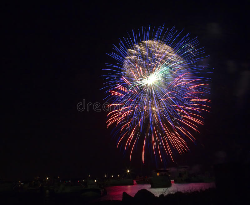 Download Fireworks stock photo. Image of fire, fourth, colors - 10096648
