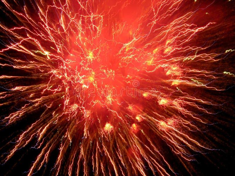 Download Fireworks stock image. Image of design, fireworks, orange - 109043