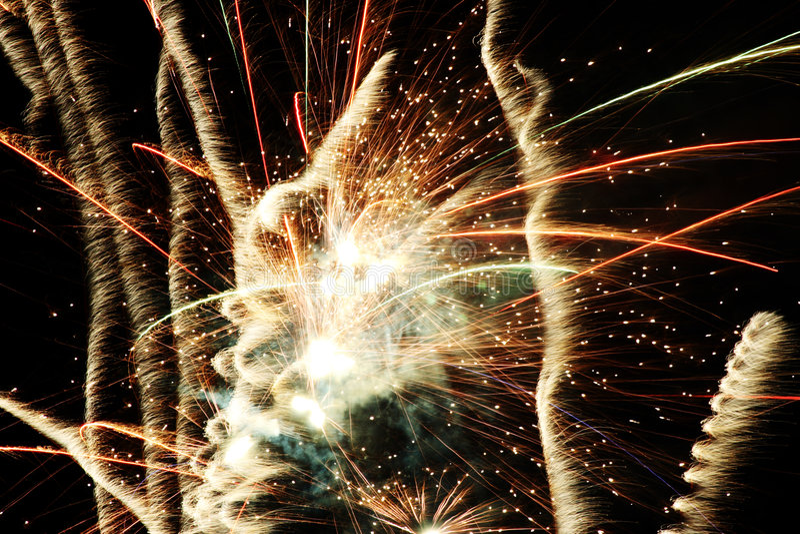Fireworks 11 royalty free stock photo