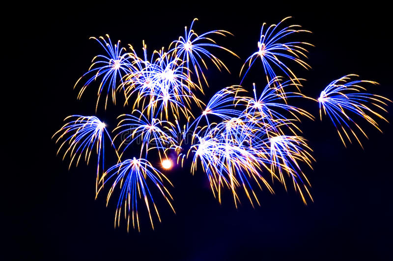 Download Fireworks stock photo. Image of fireworks, year, colors - 13400104