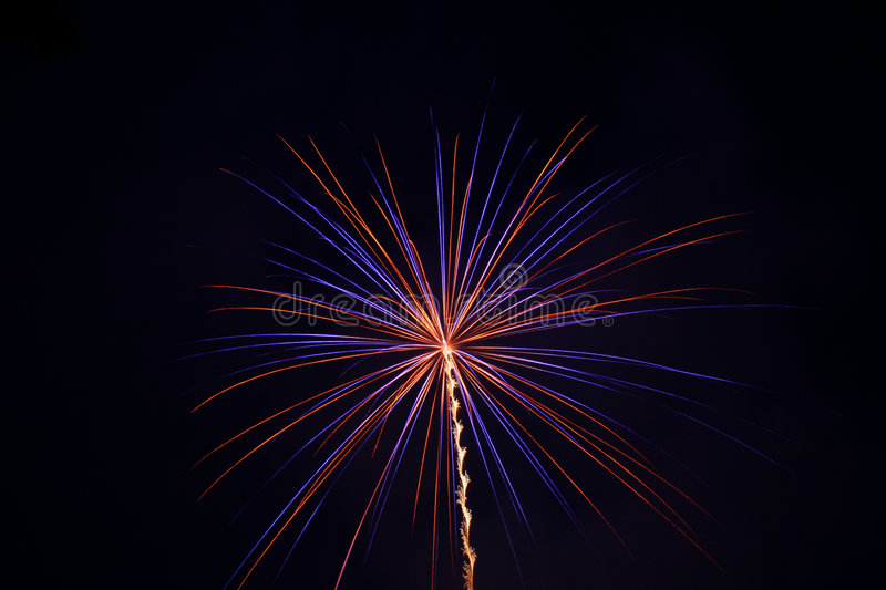 Download Fireworks stock photo. Image of motion, explosion, illumination - 174636