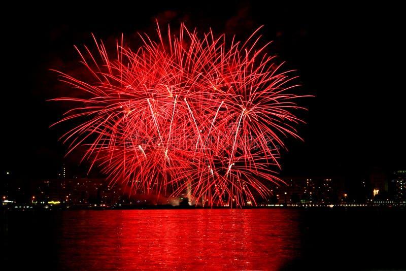 Fireworks 2 royalty free stock image
