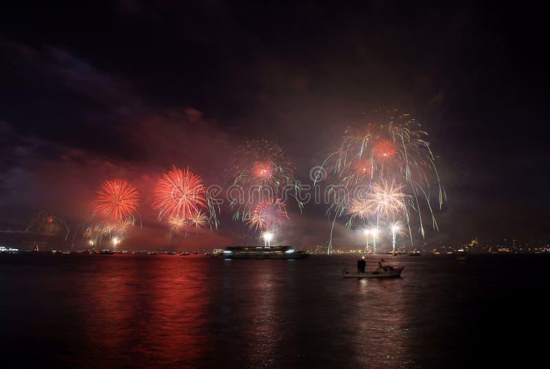 Fireworks -2 stock photo