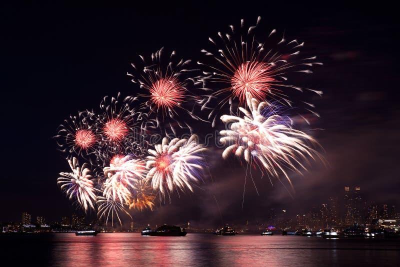 Download Fireworks stock image. Image of background, bang, glow - 20416021