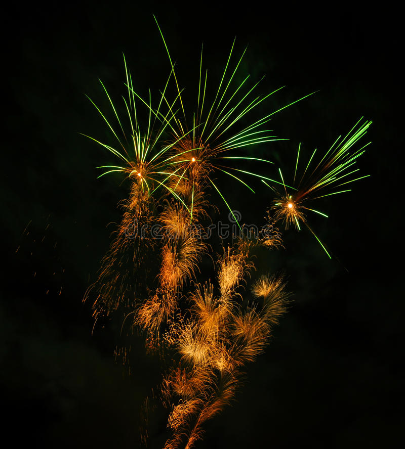 Download Fireworks stock photo. Image of colorful, glow, explosions - 22090500