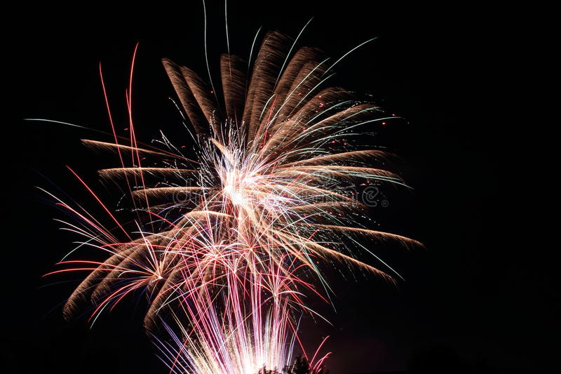 Download Fireworks stock image. Image of explode, glowing, celebrate - 22949403