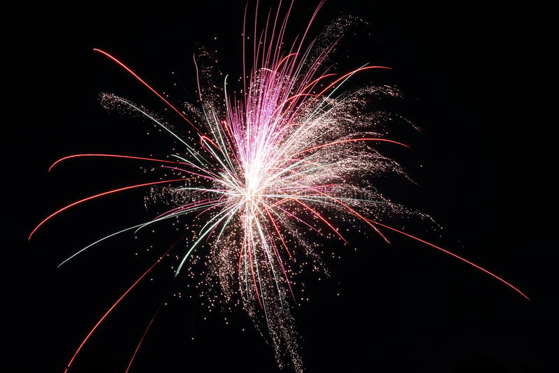Download Fireworks stock photo. Image of fire, night, festival - 22949416