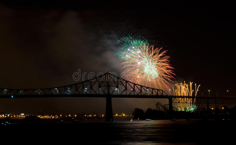 Download Fireworks stock photo. Image of rocket, water, festival - 25921020