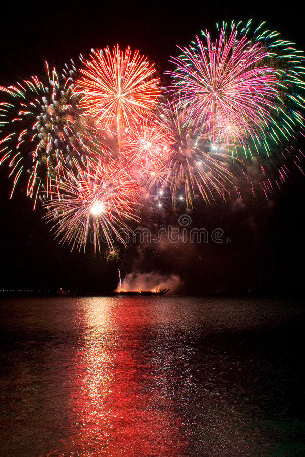 Download Fireworks stock image. Image of pyro, explosion, colorful - 2643211