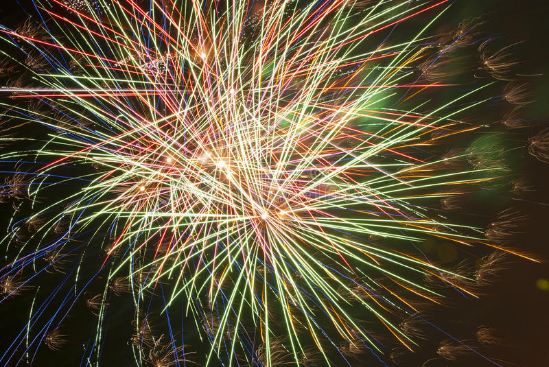 Download Fireworks stock image. Image of green, yellow, holiday - 26749381