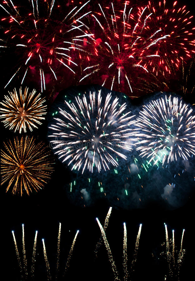 Download Fireworks stock image. Image of display, explosion, party - 28050241